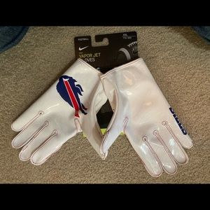 NEW CRISPY WHITE Nike Buffalo Bills Gloves XXL